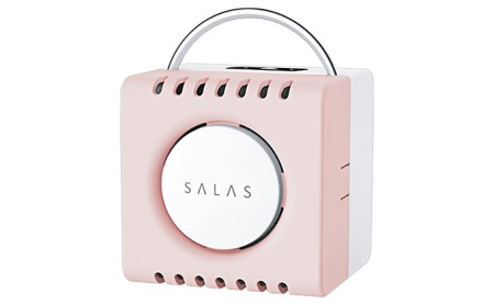 家庭用 小型 オゾン 脱臭 ・ 除菌機 オゾンエアーサラス ピンク