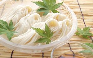 昔ながらの伝統製法 かも川手延べ素麺2.5kg