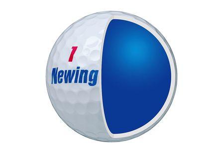 【2604-1151】ブリヂストン ゴルフボール Newing SUPER SOFT FEEL 3ダース 【色ホワイト】
