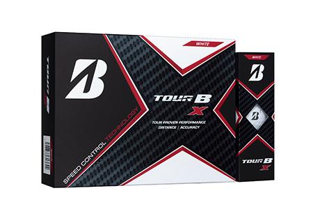 【2604-1186】ブリヂストンゴルフボール『TOUR B X』 パールホワイト
