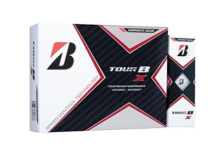 【2604-1188】ブリヂストンゴルフボール『TOUR B X』 コーポレートカラー