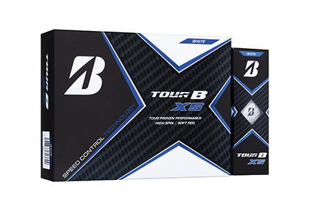【2604-1190】ブリヂストンゴルフボール『TOUR B XS』 パールホワイト
