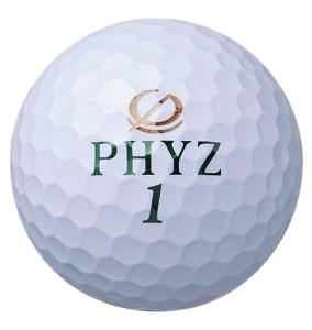 【2604-0038】 ブリヂストン ゴルフボール PHYZ 2ダース 【色ホワイト】