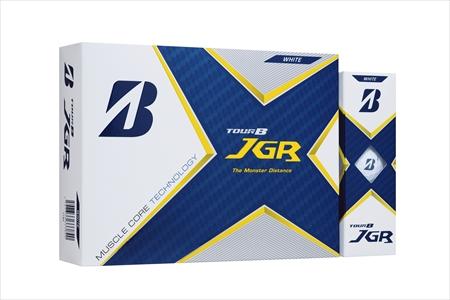 【2604-1230】ブリヂストンゴルフボール 「21JGR」3ダース【色ホワイト】