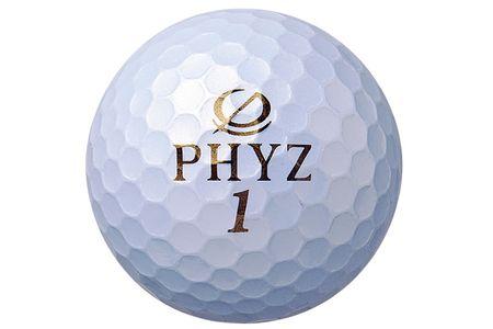 【2604-1039】 ブリヂストン ゴルフボール PHYZ 2ダース 【色パールホワイト】