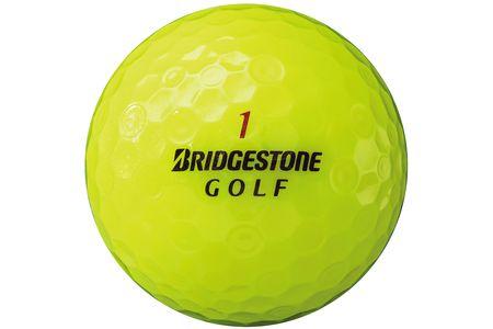 【2604-1046】 ブリヂストン ゴルフボール SUPER STRAIGHT 4ダース 【色イエロー】