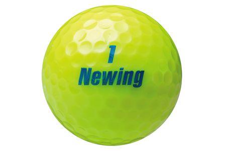 【2604-1051】 ブリヂストン ゴルフボール Newing SUPER SOFT FEEL 3ダース 【色イエロー】