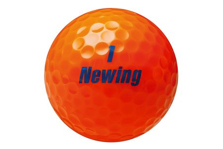 【2604-1052】 ブリヂストン ゴルフボール Newing SUPER SOFT FEEL 3ダース 【色オレンジ】