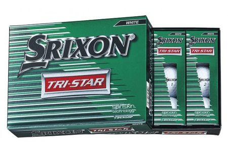 【2604-1092】 ダンロップゴルフボール スリクソン TRI-STAR 2ダース【色:ホワイト】
