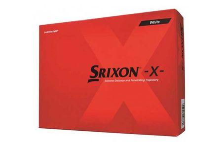 【2604-1100】ダンロップゴルフボール スリクソン SRIXON X 2ダース【色:ホワイト】
