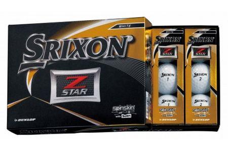 【2604-1105】ダンロップゴルフボール スリクソン ZーSTAR 2ダース【色:ホワイト】