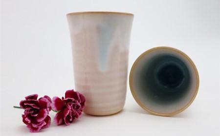 萩焼 ソライロ ペアカップ