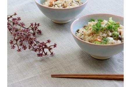 萩焼 mint お茶碗ペア