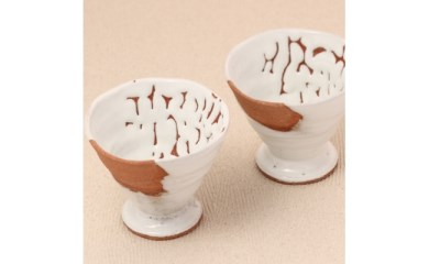 【J003】 白萩フリーカップ(2個入)【10pt】