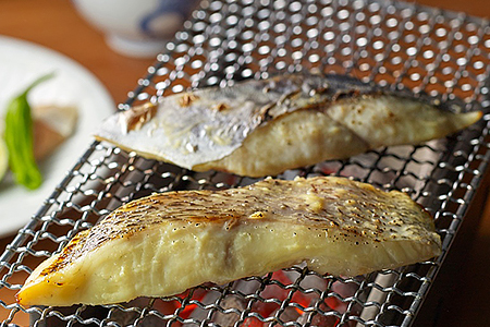 25 活〆真鯛・鰆の讃岐白味噌漬