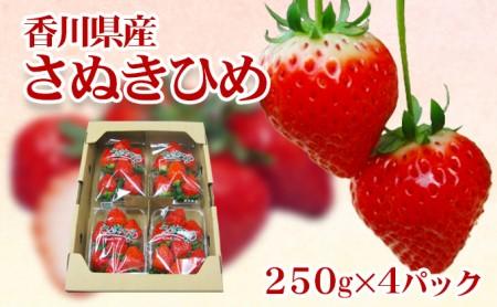 香川県オリジナル品種【さぬきひめ苺 1kg】