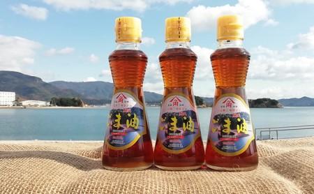 かどや製油(株) 金印純正ごま油 小豆島工場限定品 3本