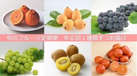 【フルーツ定期便】さぬき讃フルーツ6種類 旬のフルーツを1種類ずつお届け【G-4】