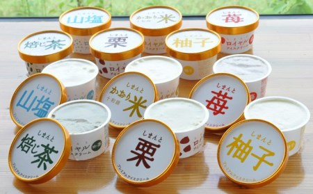 Qdr-36 四万十素材の無添加プレミアムアイスクリーム 12個セット