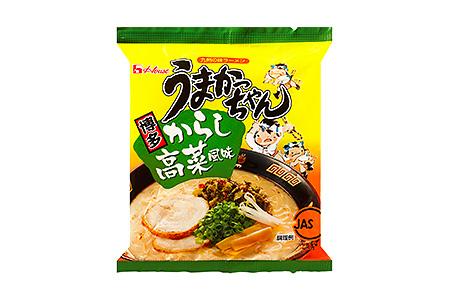 G2511 【うまかっちゃん(博多からし高菜風味)】<30袋(5袋パック×6セット)>(ハウス食品株式会社)
