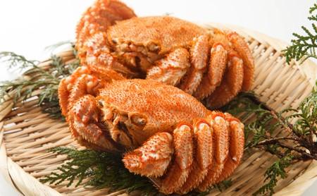 北海道産ボイル毛がに(大)2尾<約1.3kg>