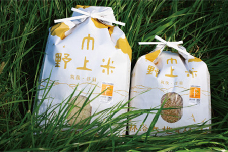 B460 野上耕作舎 野上米ヒノヒカリ 無洗米5kg