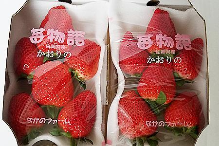 A-075.佐賀県産 いちご「かおりの」(280g×2パック)