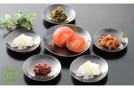 A5-017 小城の美味しい漬物5品セット 5千円コース