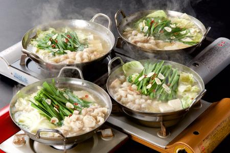 麺にこだわった!!佐賀和牛もつ鍋と絶品塩もつ鍋食べ比べセット 計7~9人前 B-585