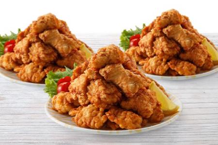 プロ仕様!ふもと赤鶏から揚げ(バラ凍結)約60個入 2000g(1kg×2P ) B-594