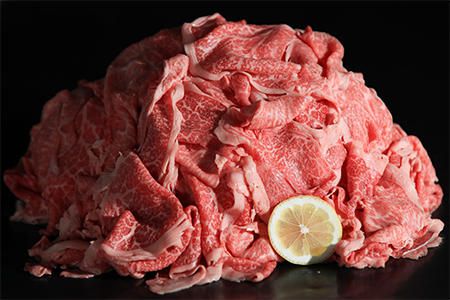 B-118 九州産黒毛和牛「切り落とし肉」 ドカ盛1500g