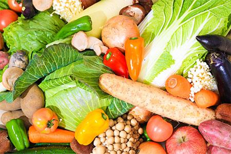 A-2 上峰・九州の「採れたて野菜セット」 14~16品
