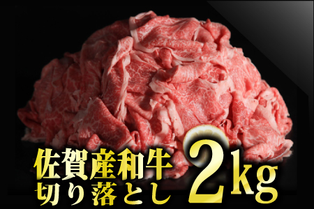 D-359 佐賀産和牛切り落とし 2000円g