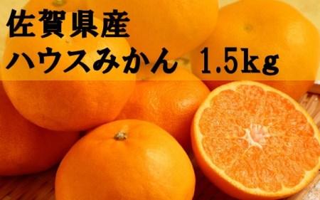 (令和3年6月以降発送)佐賀県産ハウスみかん 約1.5kg