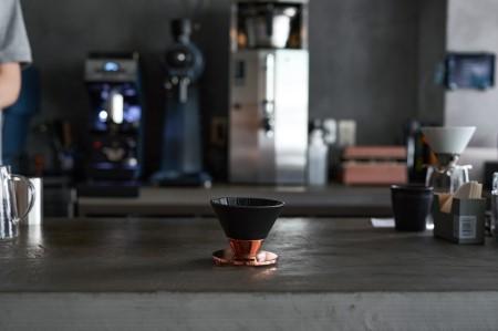 【ふるなび限定】Beasty Coffeeコーヒードリッパーブラック amadana A20-277 FN-Limited