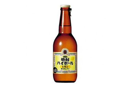 AD064タカラ「焼酎ハイボール」壜詰<レモン>280ML12本入
