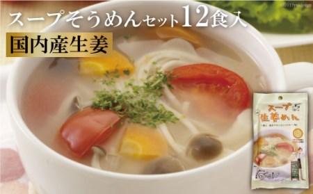 AD131伝統の味が若者のアイデアで進化 スープそうめんセット(生姜)