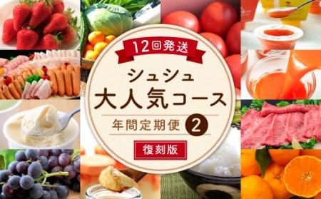 【12回定期便】シュシュ大人気コース復刻版②