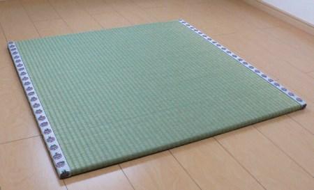 0263.畳屋さんが作った!「わんぱく畳」天然い草半畳タイプ(おむらんちゃん縁)