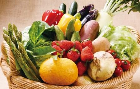 C085 安心の地元野菜と果物のお任せセット