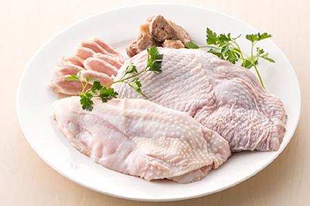 0081 しまさざなみ地鶏セット(もも肉とむね肉)