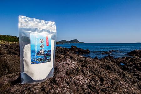 0075 溶岩塩(袋) 200g