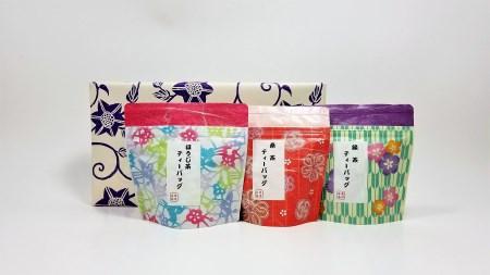 0030 五島茶ティーバッグ3種ギフトセット 【15pt】