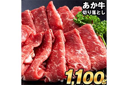 熊本の和牛 あか牛 切り落とし 1kg 500g×2パック《1月中旬-2月下旬頃より順次出荷》熊本県産 肉 和牛 牛肉 高級部位 赤牛 あかうし
