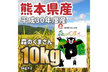 F004 平成30年度産★熊本県産 森のくまさん 10kg