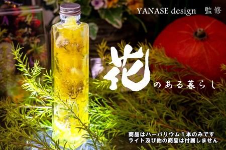 お花屋さんの手作りハーバリウム*yellow【花季】