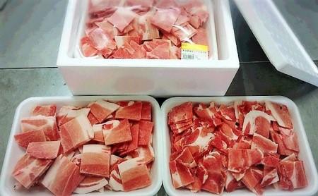 大分県産豚ウデ肉のこま切れ 1.4kg