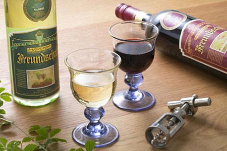 [№5632-0063]ドイツより直輸入ワイン「フロイントシャフト」2本セット【クレジット決済限定・50セット限定】