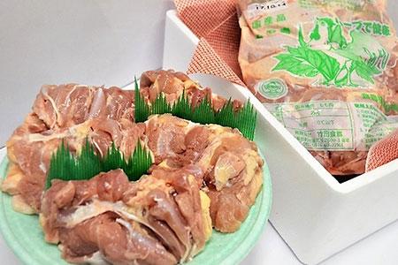 [№5632-0128]【徳用ハーブ鶏】もも肉 2kg!