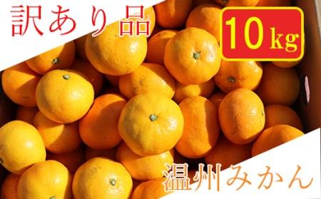 【訳あり・規格外品】杵築産 温州みかん 約10kg<06-A0067>